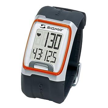 Sigma Reloj Pulsómetro PC 3.11 Naranja, Incluye Banda torácica, señal analógica, Unisex_Adulto