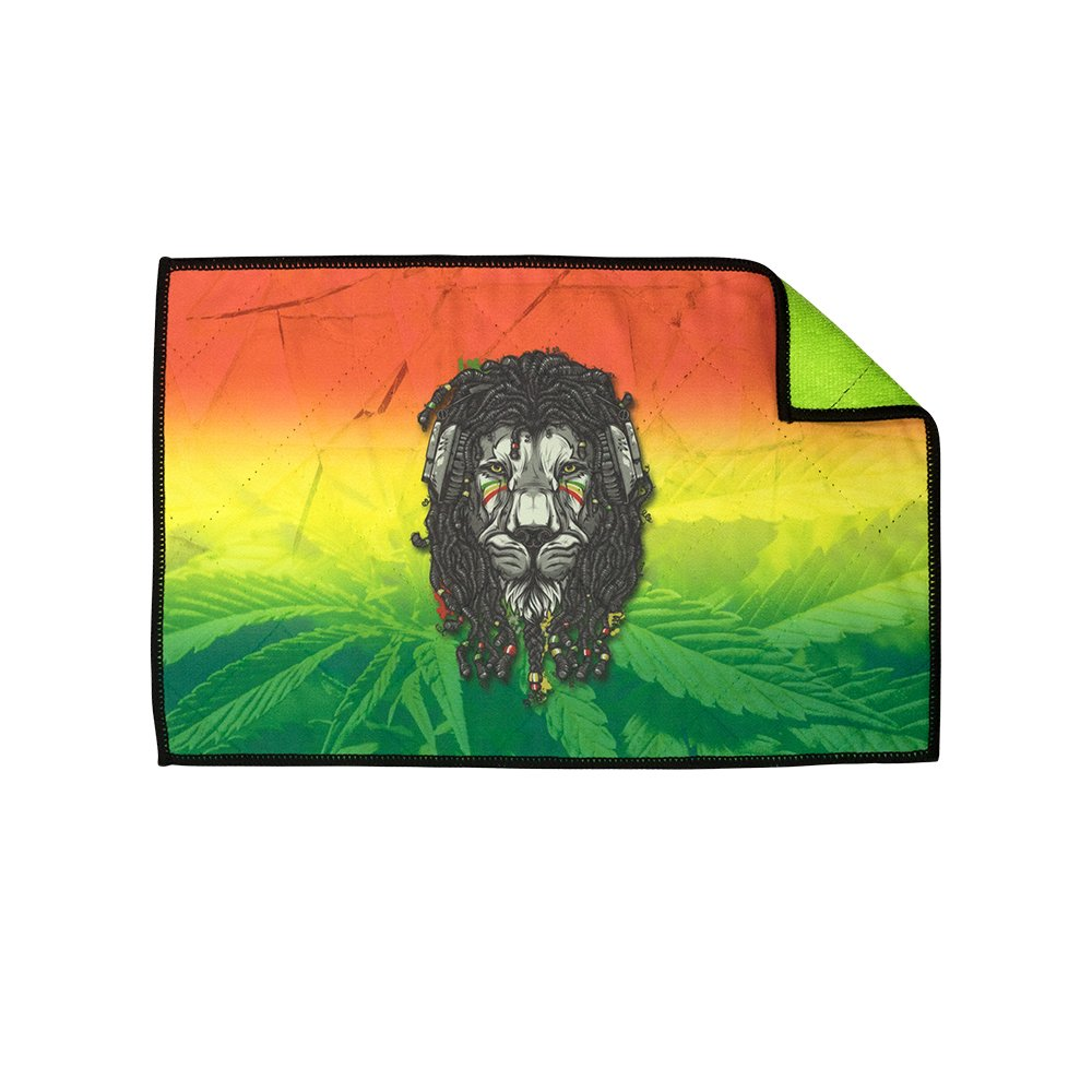 Exalt Paintball Microfiber Goggle Cloth - Player Size - Rasta Lion by Exalt