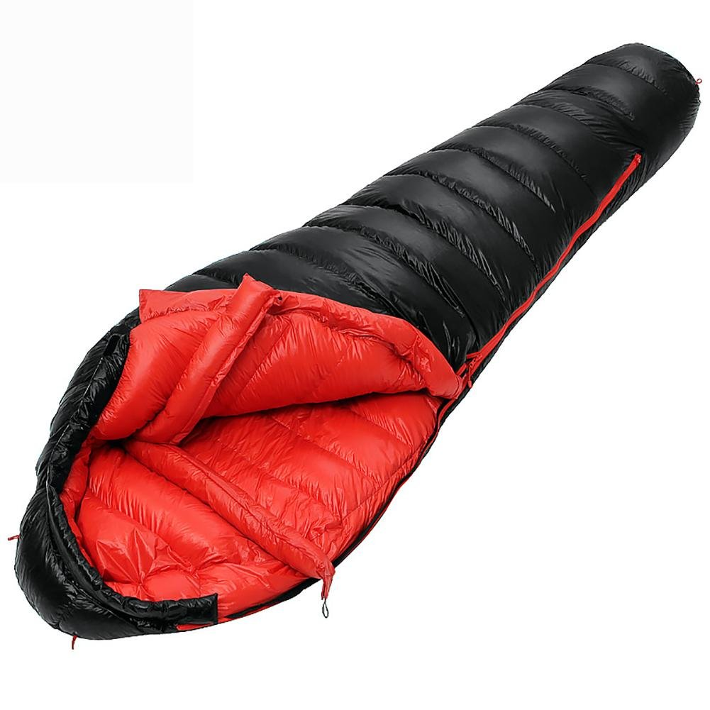 MIAO Adult Autumn and Winter Outdoor Camping Travel Thicker Warm Down Sleeping Bags Can Be Used for Indoor Lunch Break