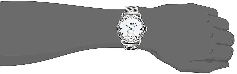 Stuhrling Original Men s 207M.01 Classique Swiss Quartz Stainless Steel Mesh Watch