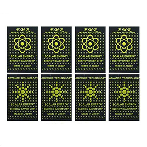 Anti Radiation Protector Shield Sticker, EMR Protection Blocker, EMF  Neutralizer Patch Energy Saver Scalar Ion for All Mobile Phones, iPad iPod,