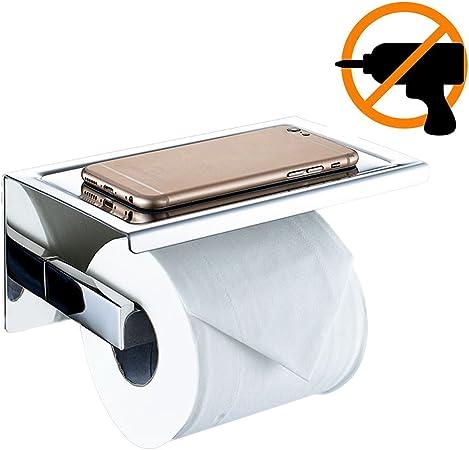 Beelee sus 304 Acier Inoxydable Double Rouleau Papier Toilette Support Stockage Salle de Bain