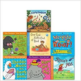 Julia Donaldson Collection With Superworm hardcover 7 Books Set ...