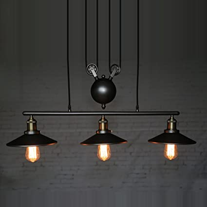 artistic lighting and designs. Homestia Vintage Pulley Pendant Loft Ceiling Light Hanging Lamp Artistic  Lighting Fixture Artistic Lighting And Designs T