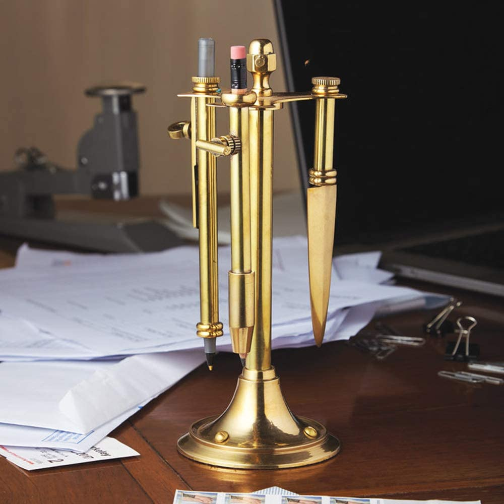Pendulux, Metropolis Desk Set, Steampunk Gift, Home and Office Supplies
