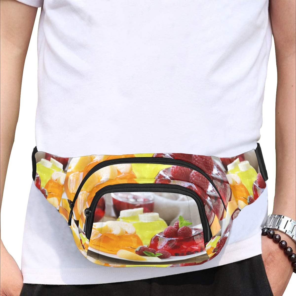 Jelly Sport Waist Pack Fanny Pack Adjustable For Run