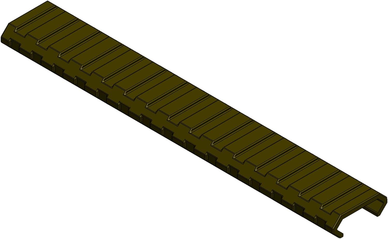 "3-Pack FDE Tactical Keymod Handguard Quad Rail 4/"" Covers Panels w//Screws"