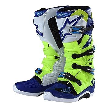 Troy Lee Designs Alpinestars Tech7 Motocross Stiefel Gelb