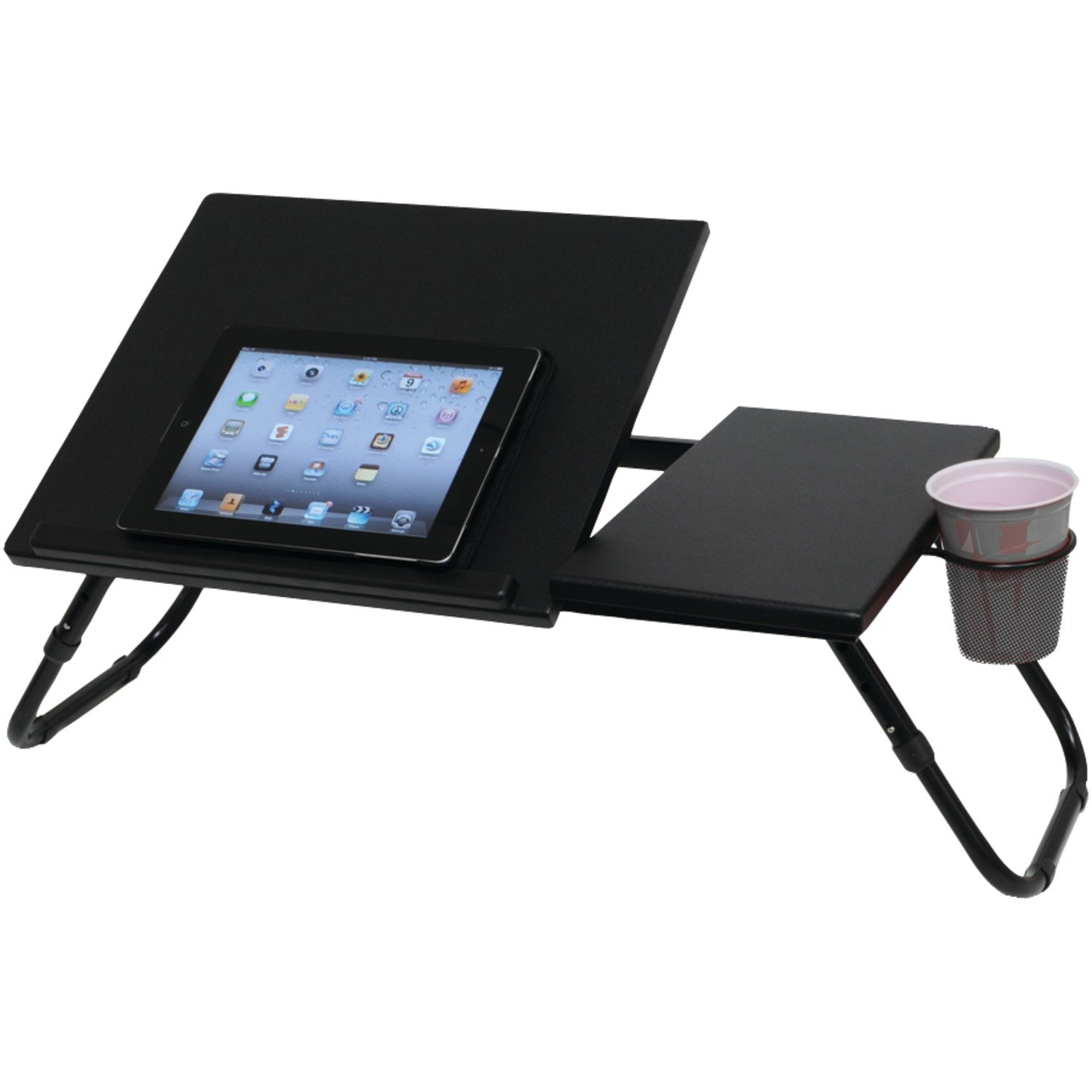 lap with tremendous tray portable laptop bed desk cushioned mobile most table for imagination light