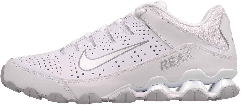 Nike Reax 8 TR, Zapatillas de Gimnasia para Hombre, Blanco (White/White/Wolf Grey 101), 46 EU: Amazon.es: Zapatos y complementos