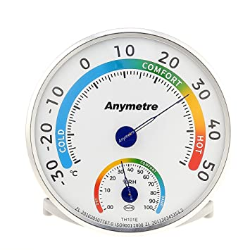 Temperature Humidity Meter Indoor Outdoor Hygrometer Thermometer Analog  Monitor Baby Room Greenhouse