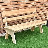 Wooden Garden Bench Outdoor Chair Yard Deck Patio Furniture