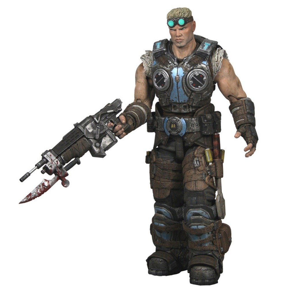 """Gears of War 3 Elite Theron 7/"""" Action Figure NECA Toys USA SELLER"""