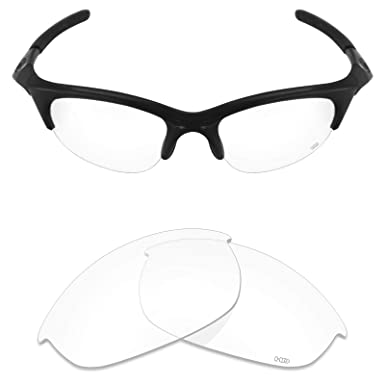 73f1355fefe Mryok+ Polarized Replacement Lenses for Oakley Half Jacket - HD Clear