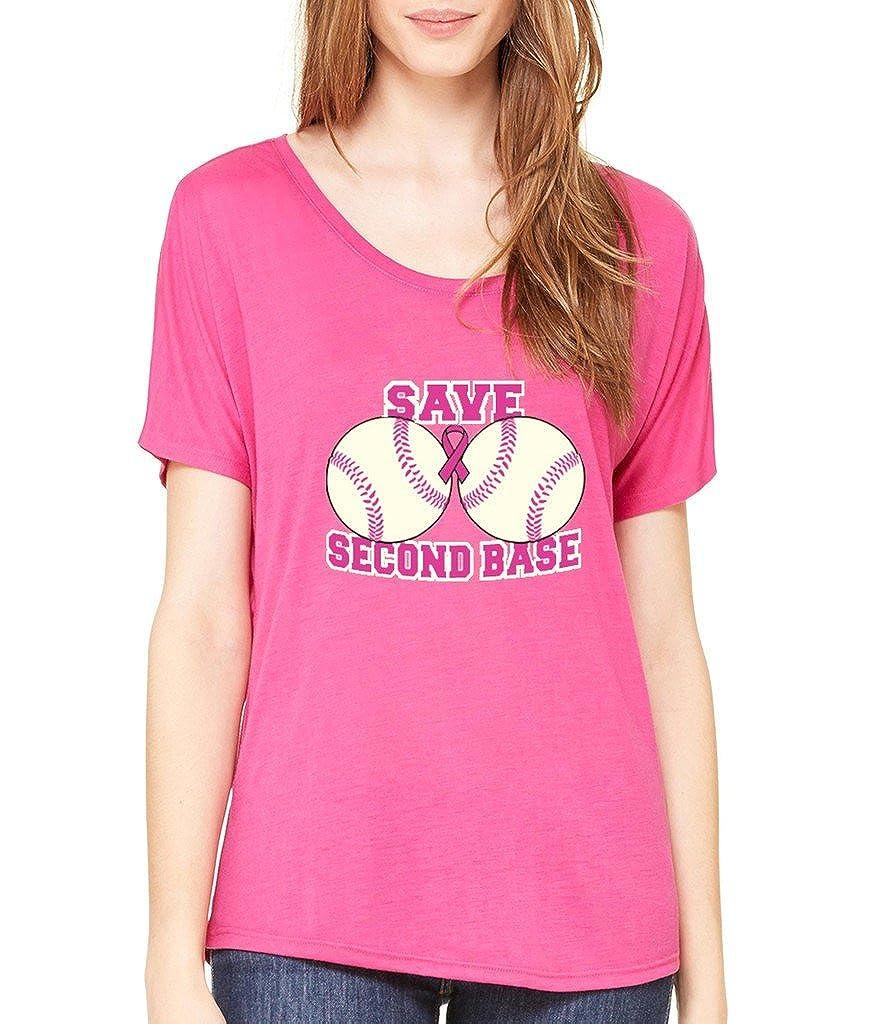VISHTEA Save The 2nd Base Fight Back T-Shirt Breast Cancer Awareness Shirts