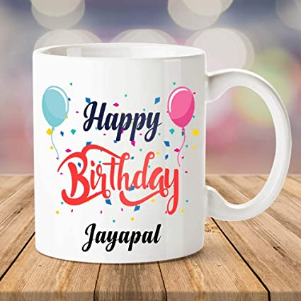 Buy Ibgift Happy Birthday Jayapal Coffee Name Mug 350 Ml White Mug Online At Low Prices In India Amazon In Madagascar 5 — happy birthday to you 02:36. amazon in