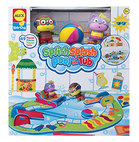 Rub A Dub Tub (ALEX Toys Rub a Dub Splish Splash Pool in the Tub)