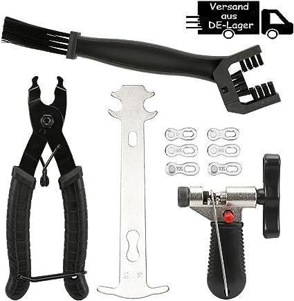 Fahrrad Link Kettenschloss-Zange Ketten Werkzeug Prüfer Fahrrad Reparatur Set DE