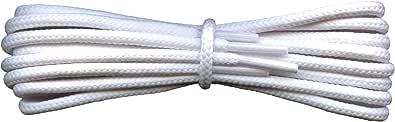 Cordones fuertes - Redondos de 4 mm - ideales para todo tipo de botas, caminar, senderismo, Dr Martens - Longitudes de 60 a 240 cm - Fabricado en Inglaterra