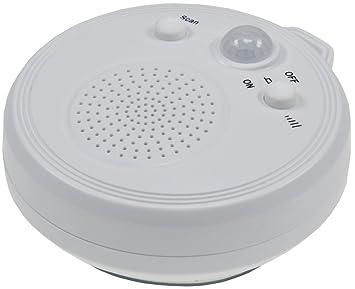ChiliTec Ducha Radio ct DR2 con sensor PIR ventosa FM Radio Portátil Impermeable