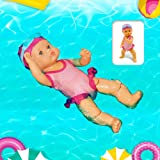 Comebs Electric Swimming Doll for Pool Bath Water Fun, Waterproof Interactive Water Baby Doll Bathtub Toy, Gift Educational Toy for Kids Girls