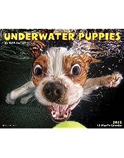Underwater Puppies 2015 Wall Calendar by Seth Casteel (2014-09-29)