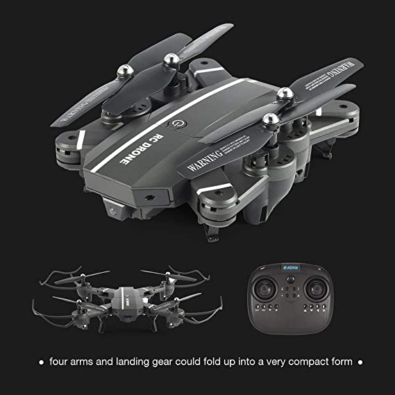 Formulaone 8807W 2.4G FPV Drone Plegable Inteligente RC Quadcopter ...