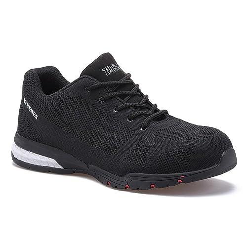 Paredes Cheste S1P SRC - zapatillas de seguridad deportivas - negro - talla 36