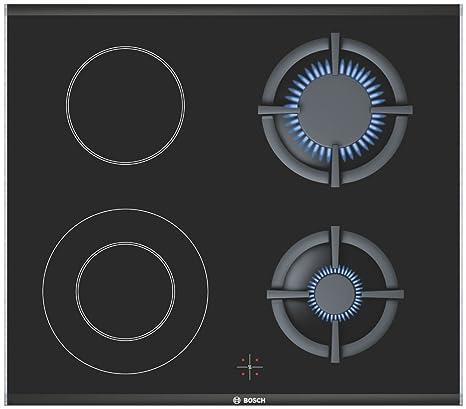 Bosch NRZ626F20E hobs Integrado Combi Negro - Placa ...