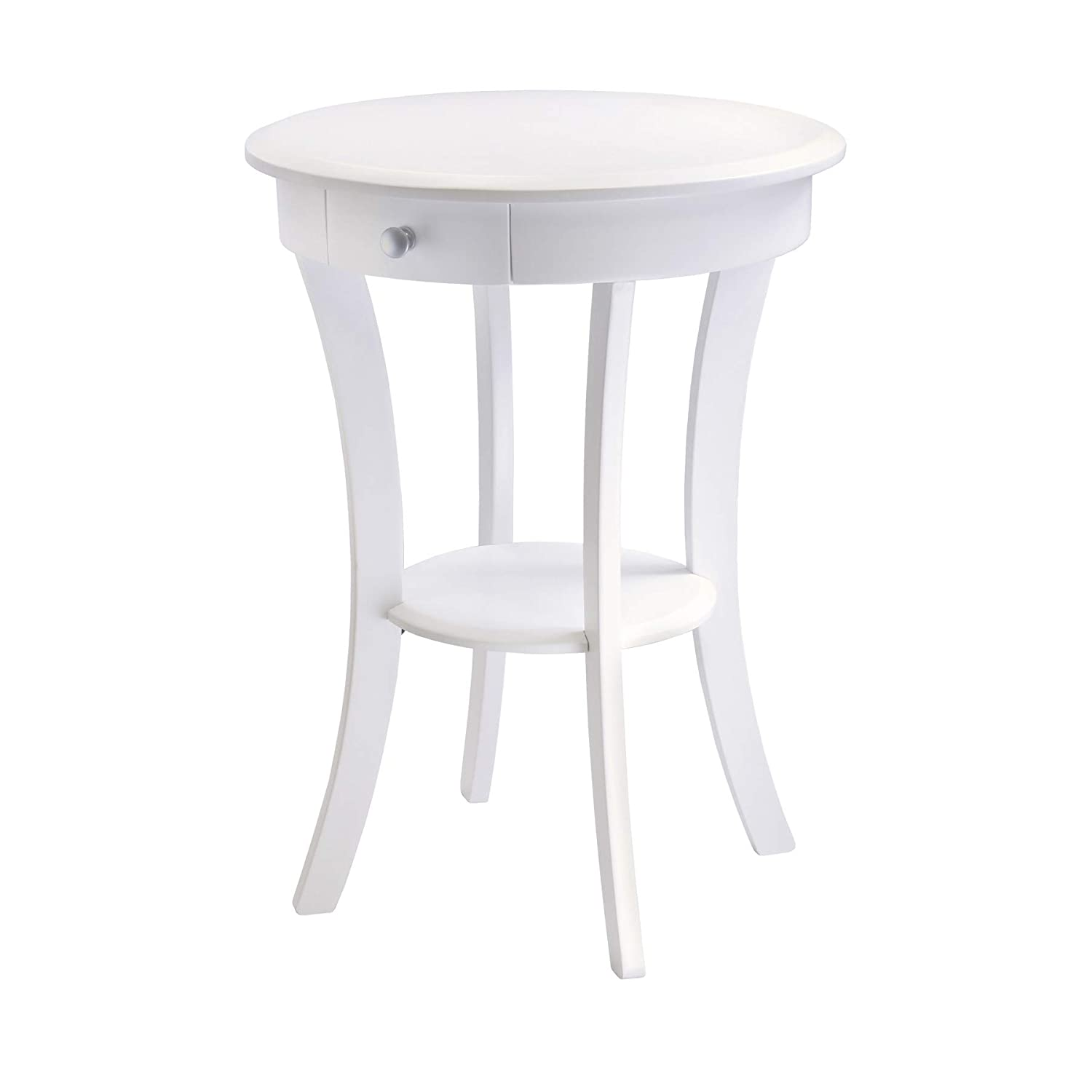 Winsome Wood 10727 Sasha Accent Table, White