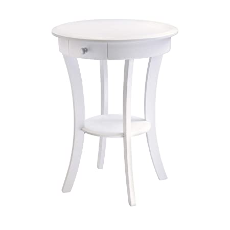 Winsome Wood 10727 Sasha Accent Table White