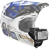 VGSION Full Face Motorcycle Helmet Chin Mount Compatible with GoPro Hero 9, 8,7, 6, Hero 5 Session, Insta360 One R and…