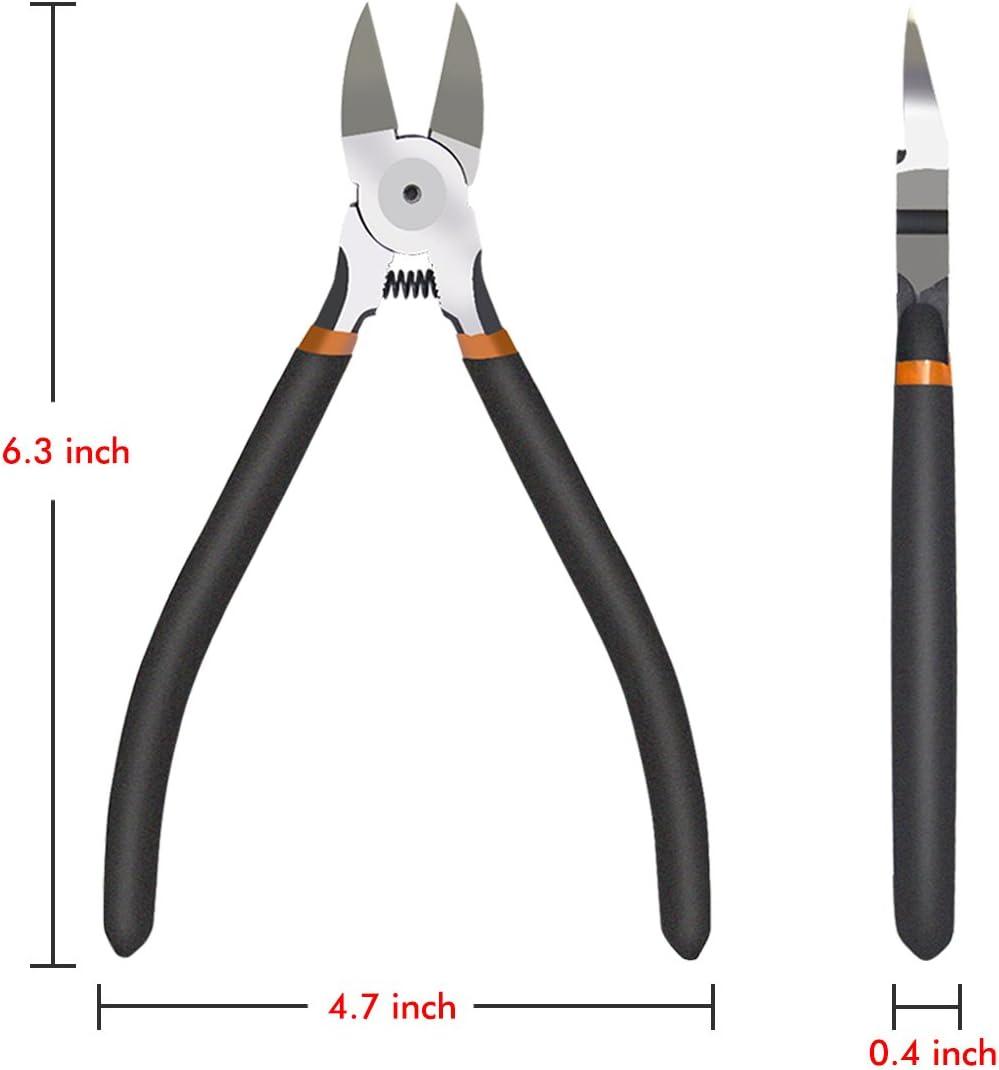 Precision Cutter Pince de boenfu Diagonal Côté Fil Coupe Pinces 6 Pouces,