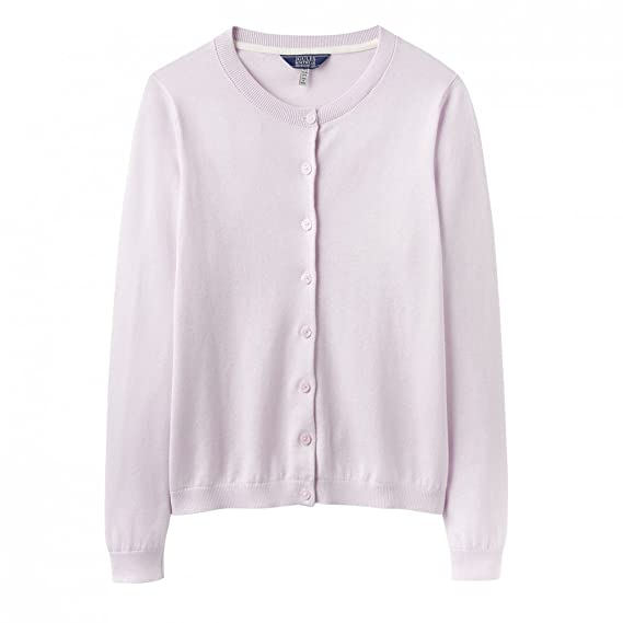 Joules Skye Button Front Knitted Womens Cardigan (Y) Pink UK14 EU42 US10 715a33d38