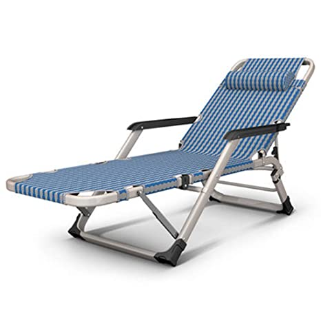 Amazon.com: Camas plegables simples silla de siesta ...