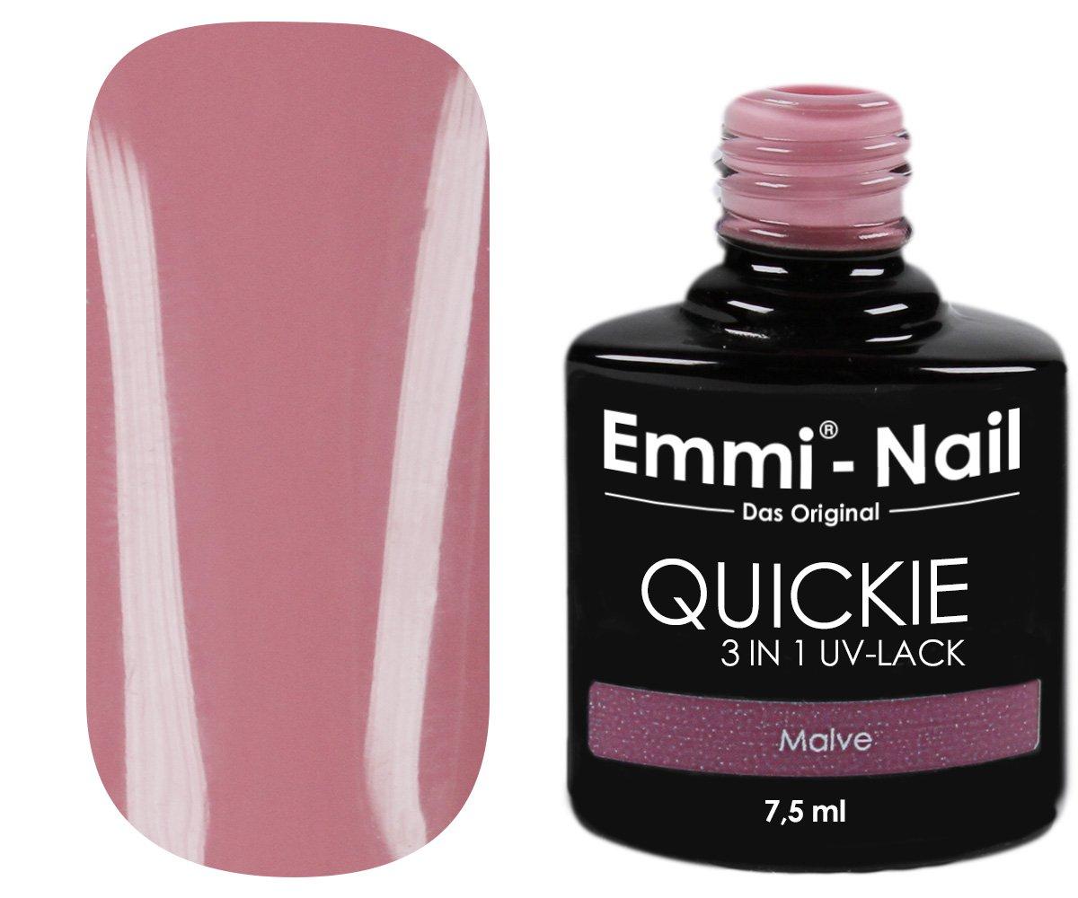 Emmi-Nail UV-Nagellack für French Manicure, ohne Schwitzschicht, kein Unter- und Überlack erforderlich, besonders haltbar, 7.5 ml 95263