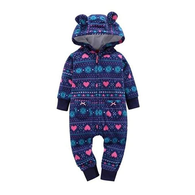 80f20ece2ca3 Amazon.com  E-Day Essentials Autumn Winter Infant Toddler Girls ...