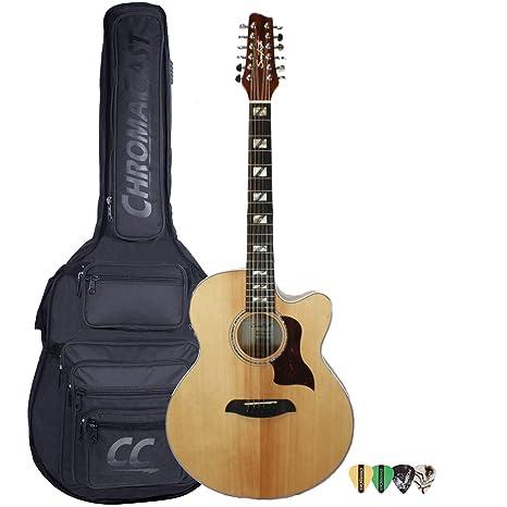 Sawtooth - Juego de 12 cuerdas para guitarra acústica (ST-MPL-AEJC ...