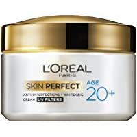 L'Oreal Paris Skin Perfect 20+ Anti-Imperfections + Whitening Cream, 50g