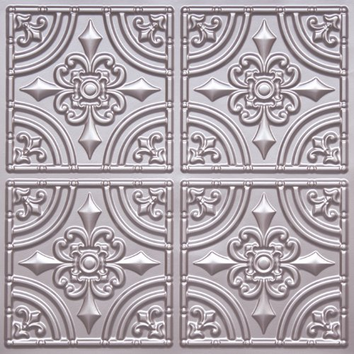 Cheape Decorative Plastic Ceiling Tile #205 Silver Tin Ul...