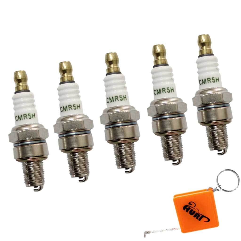 HURI 5x Z/ündkerze passend f/ür Stihl MS171 MS181 MS211 MS231 Spark plug Ersetzt Bosch USR7AC NGK CMR6H