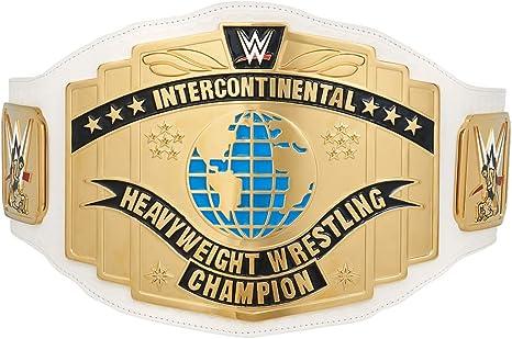 WWE Mattel Wrestling Figura Cintura INTERCONTINENTALE titolo