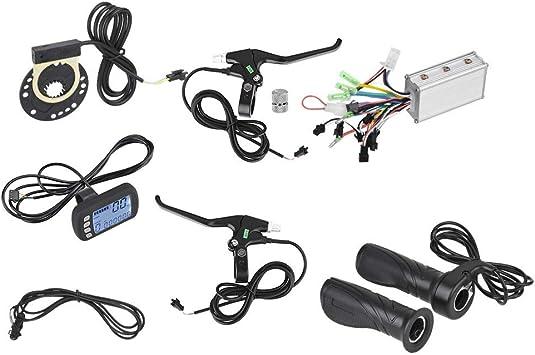 Patinete Electrico Patinete Electrico Kit Control De Motor Eléctrico-24V / 36V 250W / 350W Controlador Eléctrico Sin Escobillas Kit De Panel LCD para Bicicleta Eléctrica Scooter Eléctrico (Color : A): Amazon.es: Deportes