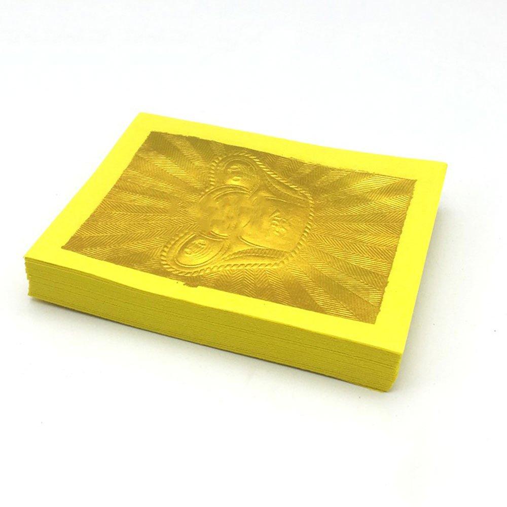 Chinese Joss Paper - Ancestor Money - Gold Foil (Pack of 100) ZeeStar