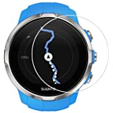 Toshion Suunto Spartan Screen Protector, Full Coverage Tempered Glass Protector for Traverse Watch with Anti-Fingerprint Bubble-Free Crystal Clear