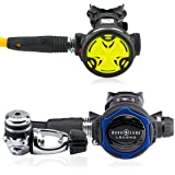 Aqua Lung Legend LX Regulator, with Seac Synchro Safe Second Stage Octo, Scuba Regulator Gear Package