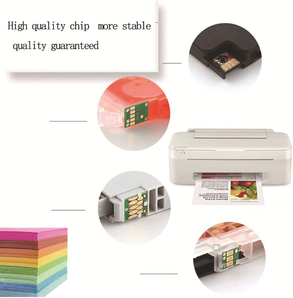 for TR7540 TR8540 TS6140 TS8140 TS9140 Inkjet Printer Cartridge-1setof5colors10 PGI-480 CLI-481XXL Compatible Ink Cartridge Large Capacity EP