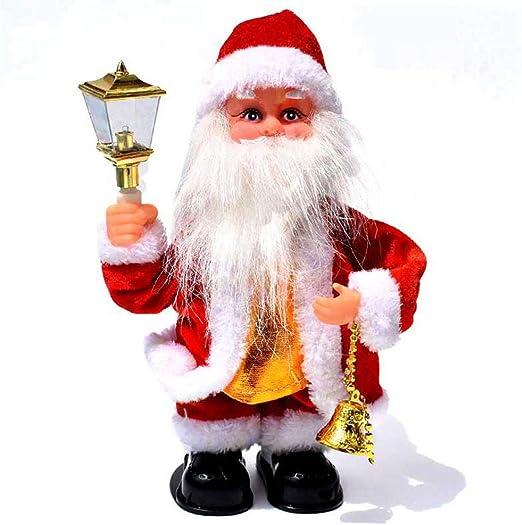 Volwco Juguete de Papá Noel, Juguete eléctrico de Navidad, música ...