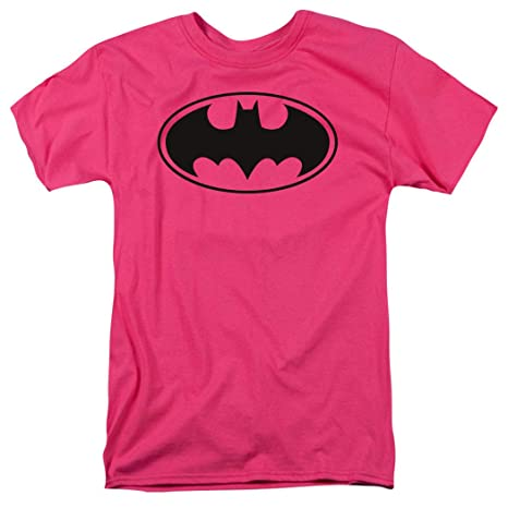 51494a307527 Amazon.com: Popfunk Pink Batman Logo T Shirt: Clothing