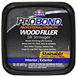 Elmer's Product P9892 Probond Woodfiller, Brown